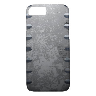 Industrial metal railings and stone iPhone 7 case