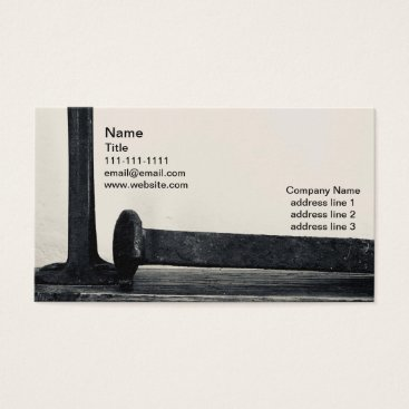 Professional Business Industrial Minimalist Business Cards