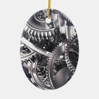 Industrial movement. ceramic ornament
