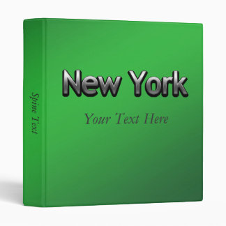 Industrial New York - On Green Binder