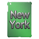 Industrial New York - On Green iPad Mini Cases