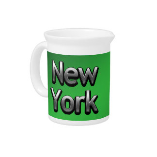 Industrial New York - On Green Drink Pitchers