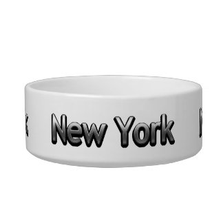 Industrial New York - On White Bowl