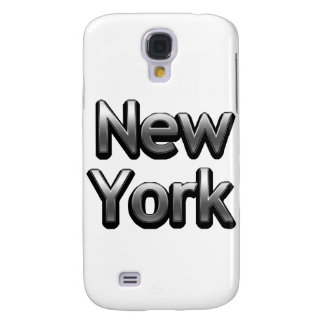 Industrial New York - On White Galaxy S4 Cover