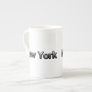 Industrial New York - On White Tea Cup