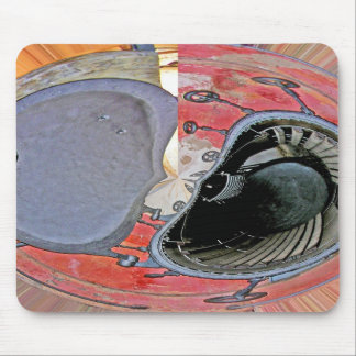 Industrial Oven Door, Abstract(2) Mouse Pad