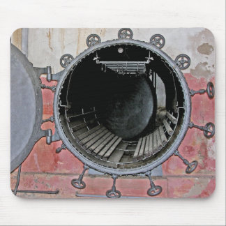 Industrial Oven Door, Abstract Mouse Pad