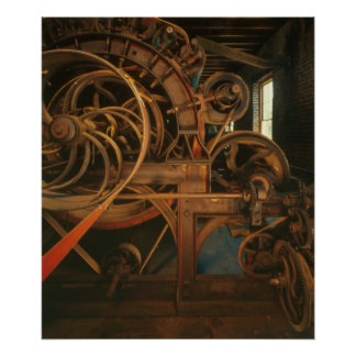 Industrial Photo - Mill Carding Machine Posters