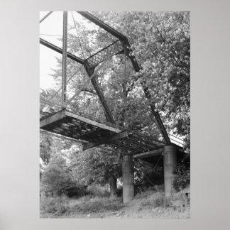 Industrial Photo - Osceola Bridge Poster