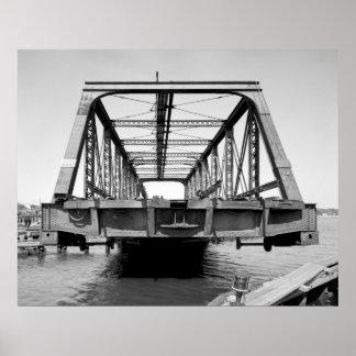 Industrial Photo - Railroad Bridge Poster