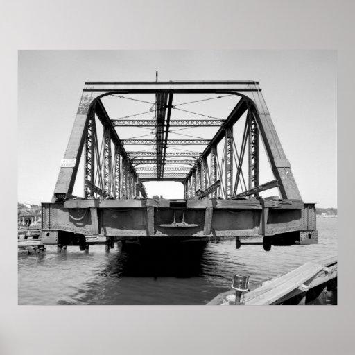 Industrial Photo - Railroad Bridge Posters