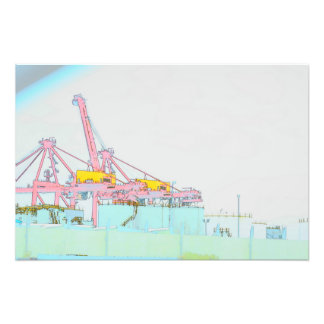 Industrial Picture Photo Print