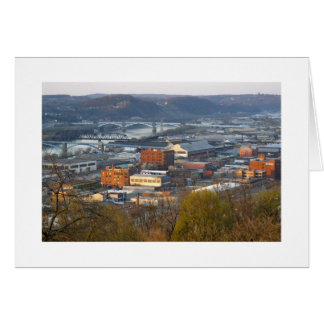 Industrial Pittsburgh Stationery Note Card