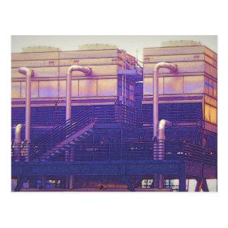 Industrial Platform postcard