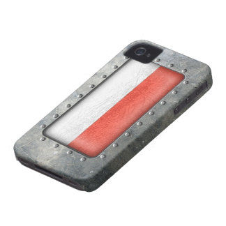 Industrial Polish Flag iPhone 4 Cover