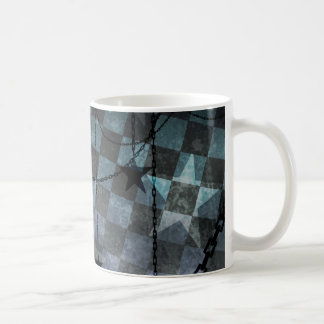 Industrial punk stars coffee mug