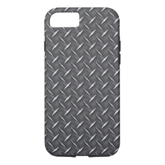 Industrial Raw Steel Diamond Plate Print iPhone 8/7 Case