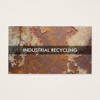 Industrial Recycling Business Card