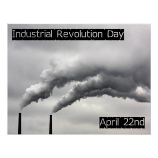 Industrial Revolution Day Poster