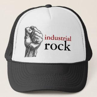 industrial rock trucker hat