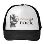 industrial rock trucker hat