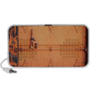Industrial Rust: Orange Doors Speaker