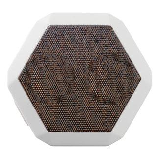 Industrial Rust Texture Base Layer Customizable White Boombot Rex Bluetooth Speaker