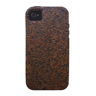 Industrial Rust Texture Base Layer Customizable iPhone 4/4S Cover