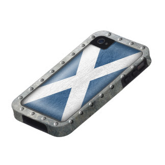 Industrial Scottish Flag iPhone 4/4S Covers