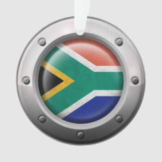 Industrial South African Flag Steel Graphic