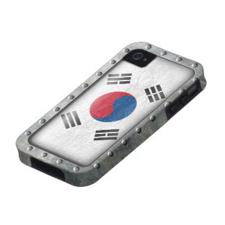 Industrial South Korean Flag iPhone 4/4S Cover