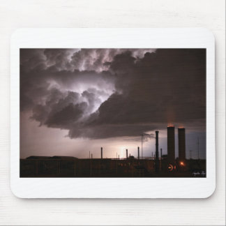 INDUSTRIAL SPARK MOUSE PAD