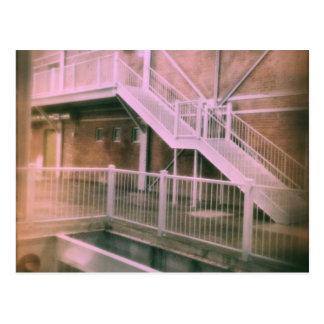 Industrial Stairs Postcard