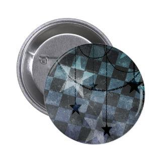 Industrial stars 2 inch round button