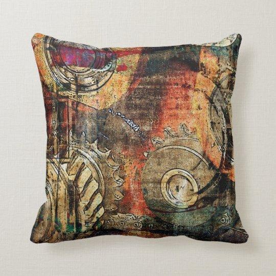 industrial steampunk pillow  Zazzle.com