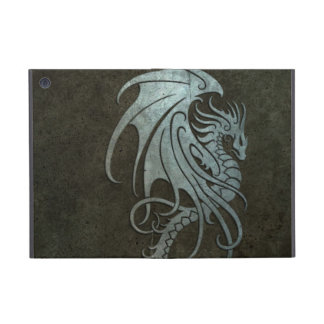 Industrial Steel Flying Dragon - right side iPad Mini Cover