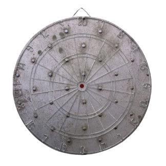 Industrial steel sheet metal dart board