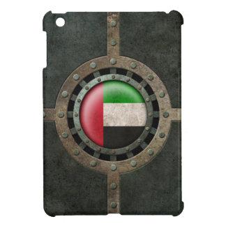Industrial Steel UAE Flag Disc Graphic iPad Mini Cover