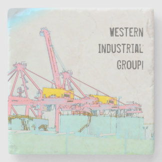Industrial Stone Coaster