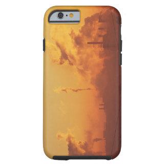 Industrial sunrise tough iPhone 6 case