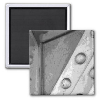 Industrial Theme Digital Art Refrigerator Magnet