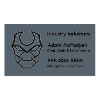 Industrial Trades & Tech Bold Robot Business Card