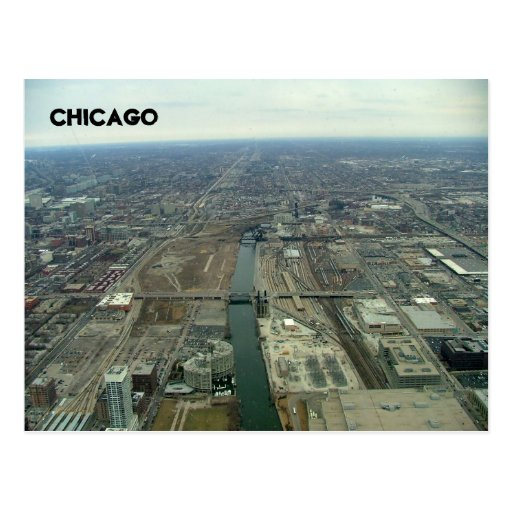 Industrial Zone Postcard
