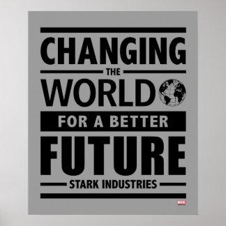 Industrias rígidas que cambian el mundo póster