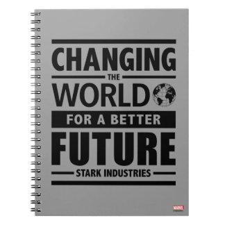 Industrias rígidas que cambian el mundo spiral notebooks