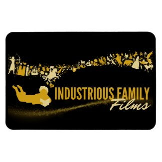 Industrious Family Films Magnet