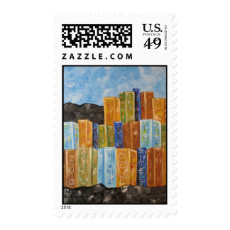 Industry 2 postage stamp