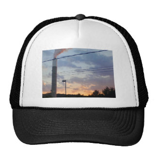 Industry and art of nature trucker hat