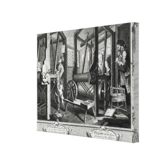 Industry and Idleness Canvas Print