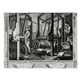 Industry and Idleness Postcard